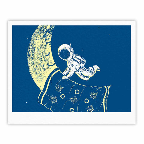 "Barmalisirtb ""You Need A Break"" Blue Moon Fine Art Gallery Print - KESS InHouse"