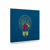 "BarmalisiRTB ""Anglerfish Bulb"" Blue Red Canvas Art - KESS InHouse  - 1"