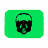 "BarmalisiRTB ""Black Panda"" Black Green Digital Place Mat"