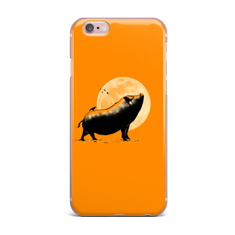 "BarmalisiRTB ""Barking Pig"" iPhone Case - Outlet Item"