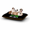 "BarmalisiRTB ""Aurora"" Green White Dog Bed - KESS InHouse  - 1"