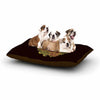 "BarmalisiRTB ""Fragrant Dead"" Green Illustration Dog Bed - KESS InHouse  - 1"