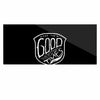 "BarmalisiRTB ""For The Good Time"" Black White Illustration Luxe Rectangle Panel"