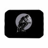 "BarmalisiRTB ""The Thinker Coffee"" Black White Digital Place Mat - KESS InHouse"