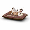 "BarmalisiRTB ""Camels And Ladders"" Brown Coral Digital Dog Bed - KESS InHouse  - 1"