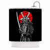 "BarmalisiRTB ""SamuraiZ"" Red White Digital Shower Curtain - KESS InHouse"