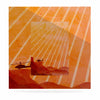 "BarmalisiRTB ""Landed"" Yellow Orange Illustration Luxe Square Panel - KESS InHouse  - 1"