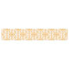 "Apple Kaur Designs ""Diamonds"" Yellow Squares Table Runner - KESS InHouse  - 1"