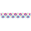 "Apple Kaur Designs ""Lolly Flowers"" Blue Pink Table Runner - KESS InHouse  - 1"