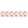 "Apple Kaur Designs ""Tea-Birds"" Orange Pink Table Runner - KESS InHouse  - 1"