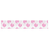 "Apple Kaur Designs ""Wild Dandelions"" Pink Gray Table Runner - KESS InHouse  - 1"