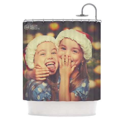 KESS Custom Printed Shower Curtain - KESS InHouse  - 1