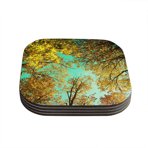 "Sylvia Cook ""Vantage Point"" Coasters (Set of 4)"