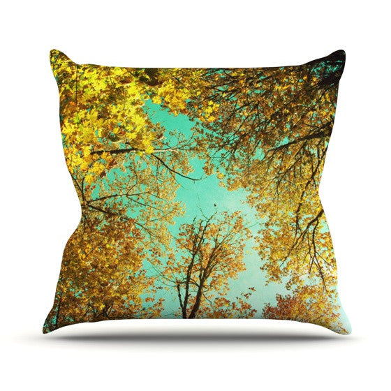 "Sylvia Cook ""Vantage Point"" Outdoor Throw Pillow - KESS InHouse  - 1"