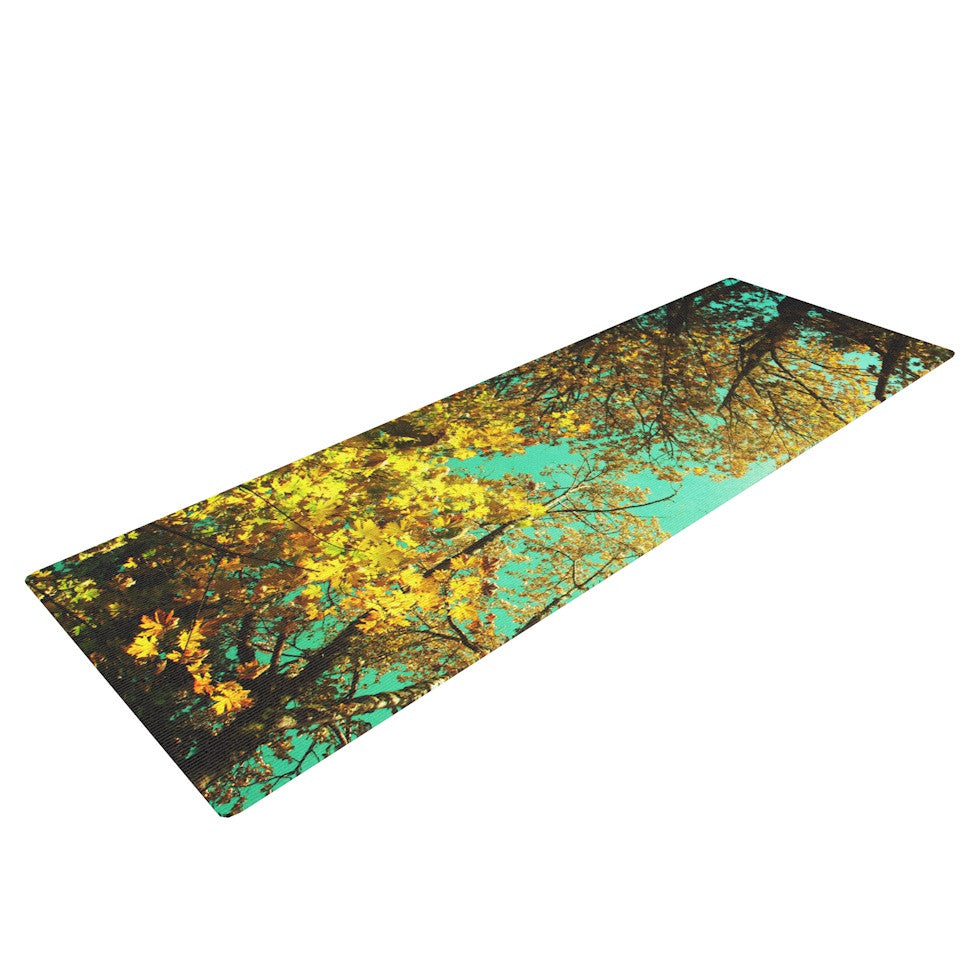 "Sylvia Cook ""Vantage Point"" Yoga Mat - KESS InHouse  - 1"