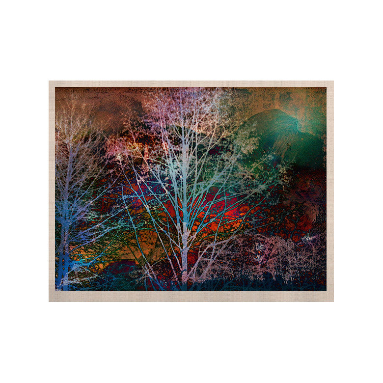 "Sylvia Cook ""Trees in the Night"" KESS Naturals Canvas (Frame not Included) - KESS InHouse  - 1"