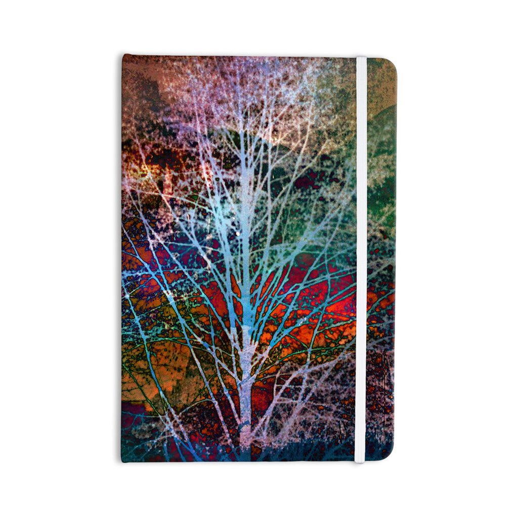 "Sylvia Cook ""Trees in the Night"" Everything Notebook - KESS InHouse  - 1"
