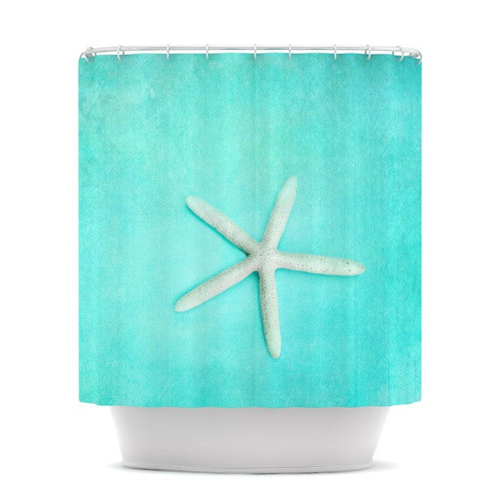 "Sylvia Cook ""Starfish"" Shower Curtain - KESS InHouse"