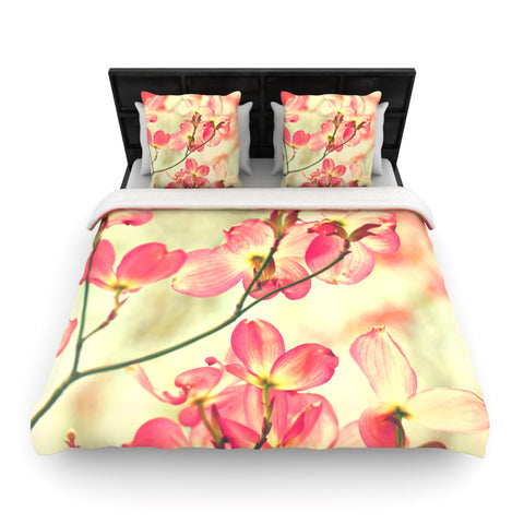 "Sylvia Cook ""Morning Light""  Woven Duvet Cover - Outlet Item"