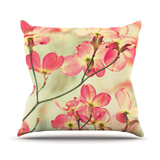 "Sylvia Cook ""Morning Light"" Throw Pillow - KESS InHouse  - 1"