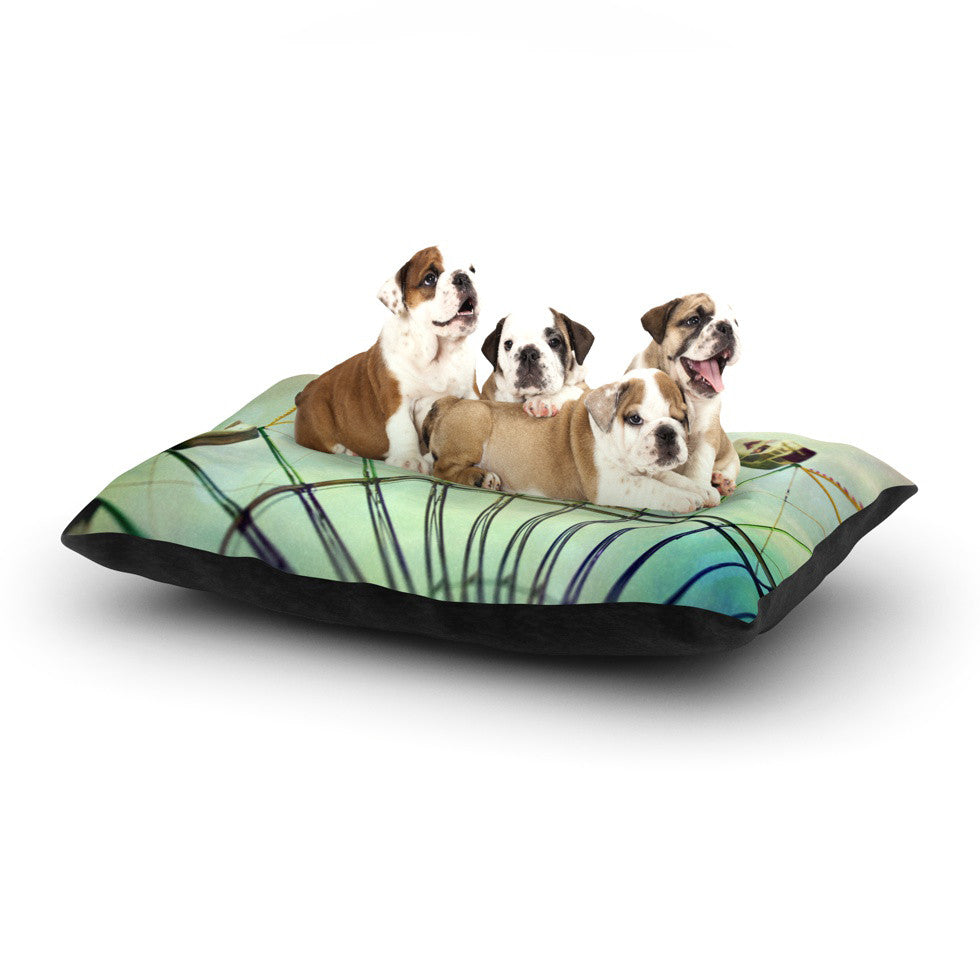 "Sylvia Cook ""Every Summer Has a Story"" Dog Bed - KESS InHouse  - 1"