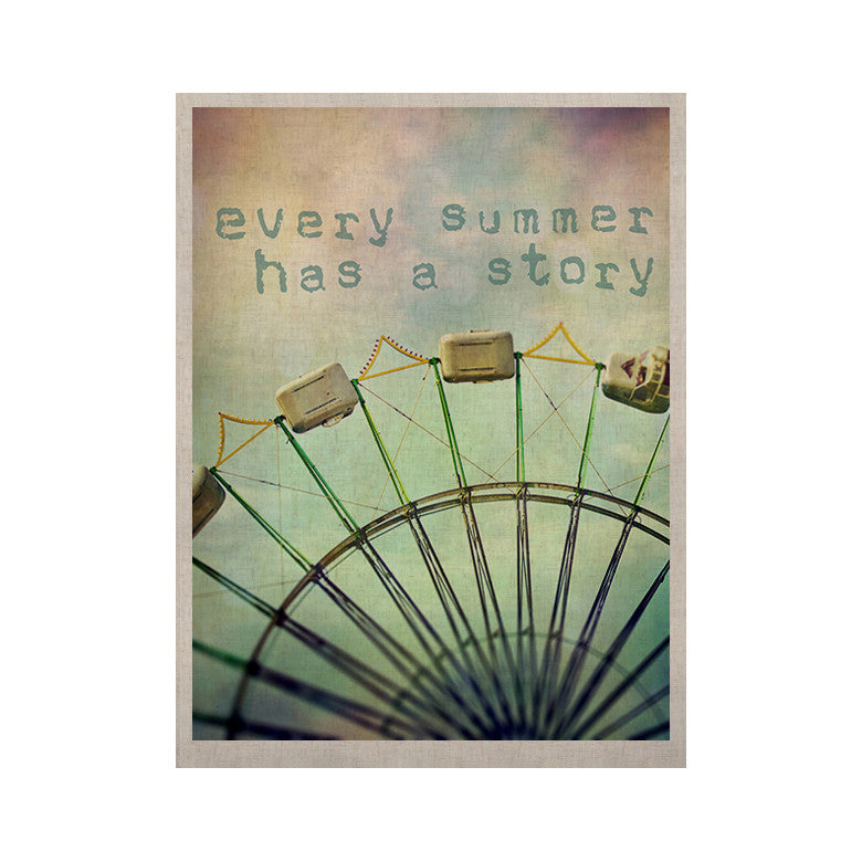 "Sylvia Cook ""Every Summer Has a Story"" KESS Naturals Canvas (Frame not Included) - KESS InHouse  - 1"