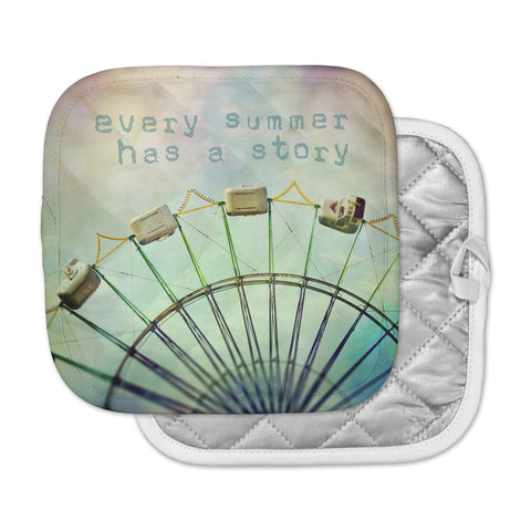 "Sylvia Cook ""Every Summer Has a Story"" Pot Holder"