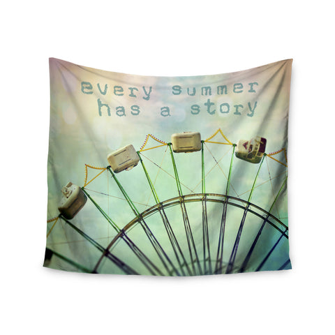 "Sylvia Cook ""Every Summer Has a Story"" Wall Tapestry - KESS InHouse  - 1"