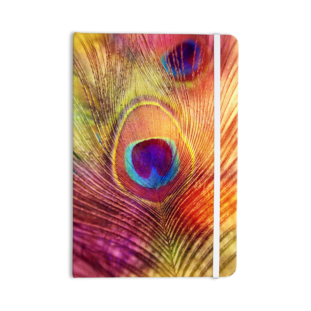 "Sylvia Cook ""Peacock Feather"" Everything Notebook - KESS InHouse  - 1"