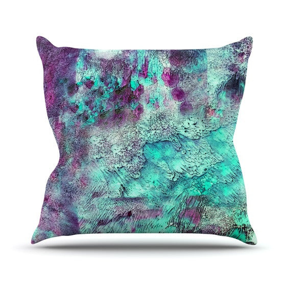 "Sylvia Cook ""Think Outside the Box"" Throw Pillow - KESS InHouse  - 1"