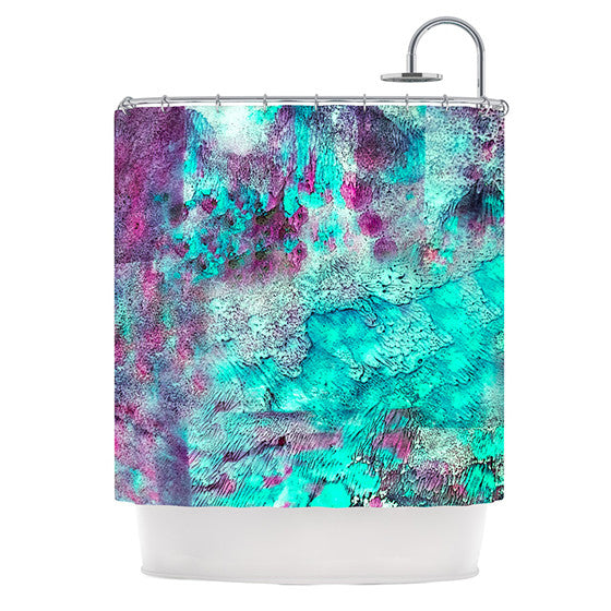 "Sylvia Cook ""Think Outside the Box"" Shower Curtain - KESS InHouse"