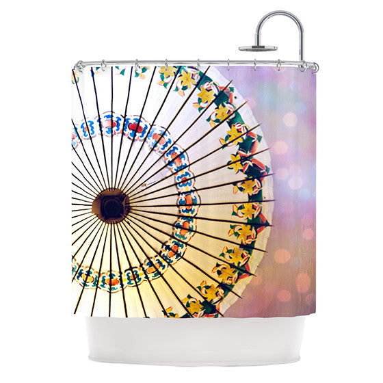 "Sylvia Cook ""Parasol"" Shower Curtain - KESS InHouse"