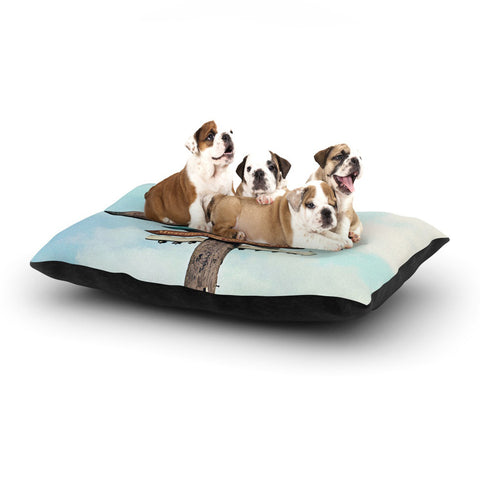 "Sylvia Cook ""Love Shack"" Dog Bed - KESS InHouse  - 1"