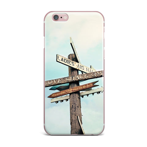 "Sylvia Cook ""Love Shack"" iPhone Case - KESS InHouse"