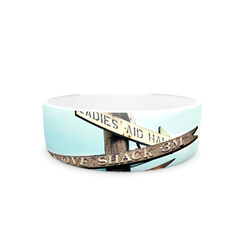 "Sylvia Cook ""Love Shack"" Pet Bowl - KESS InHouse"