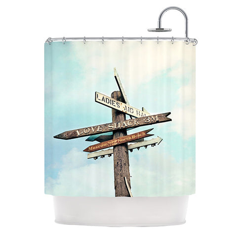 "Sylvia Cook ""Love Shack"" Shower Curtain - KESS InHouse"