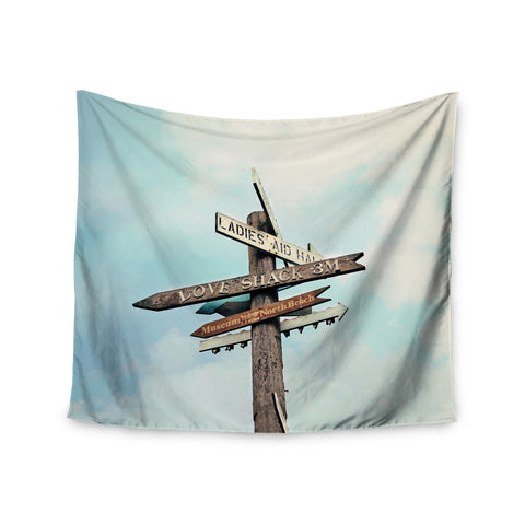 "Sylvia Cook ""Love Shack"" Wall Tapestry - KESS InHouse  - 1"