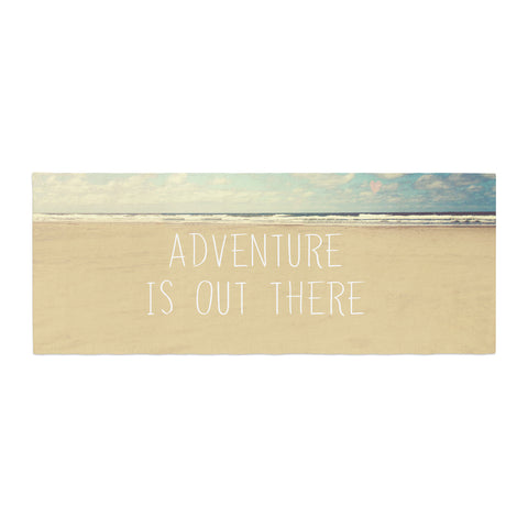 "Sylvia Cook ""Adventure is Out There"" Bed Runner - KESS InHouse"