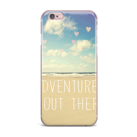 "Sylvia Cook ""Adventure is Out There"" iPhone Case - KESS InHouse"