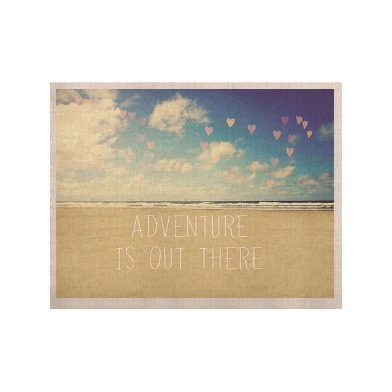 "Sylvia Cook ""Adventure is Out There"" KESS Naturals Canvas (Frame not Included) - KESS InHouse  - 1"