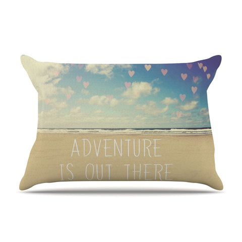 "Sylvia Cook ""Adventure is Out There"" Pillow Sham - KESS InHouse"