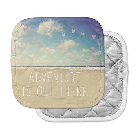 "Sylvia Cook ""Adventure is Out There"" Pot Holder"