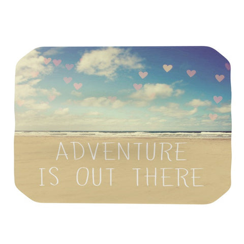 "Sylvia Cook ""Adventure is Out There"" Place Mat - KESS InHouse"