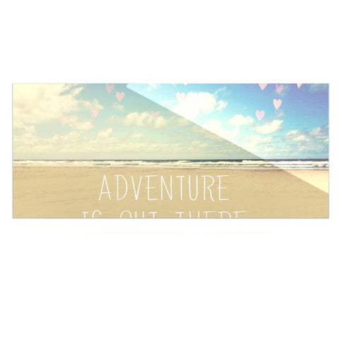 "Sylvia Cook ""Adventure is Out There"" Luxe Rectangle Metal Art - KESS InHouse  - 1"