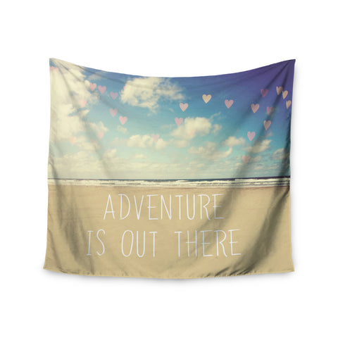 "Sylvia Cook ""Adventure is Out There"" Wall Tapestry - KESS InHouse  - 1"