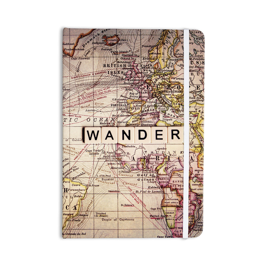 "Sylvia Cook ""Wander"" Everything Notebook - KESS InHouse  - 1"