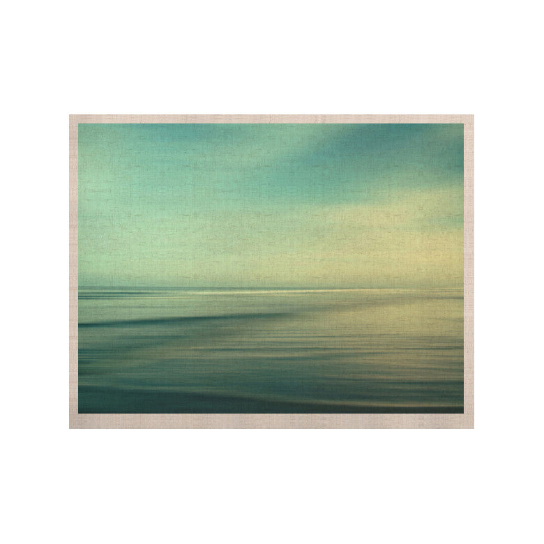 "Sylvia Cook ""Beach"" KESS Naturals Canvas (Frame not Included) - KESS InHouse  - 1"