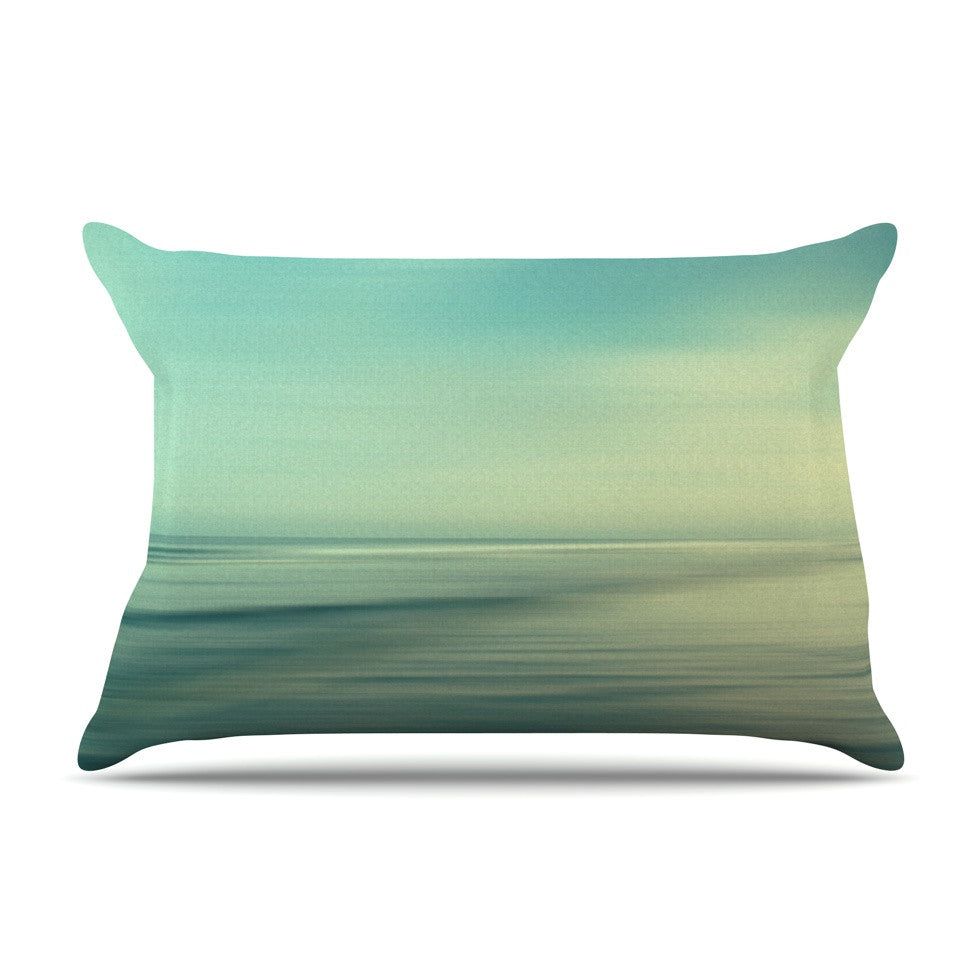 "Sylvia Cook ""Beach"" Pillow Sham - KESS InHouse"