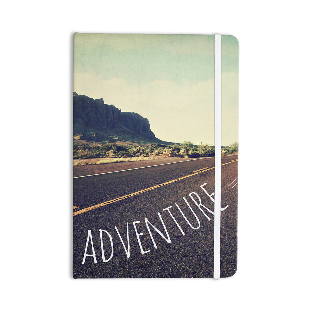 "Sylvia Cook ""Adventure"" Desert Road Everything Notebook - KESS InHouse  - 1"