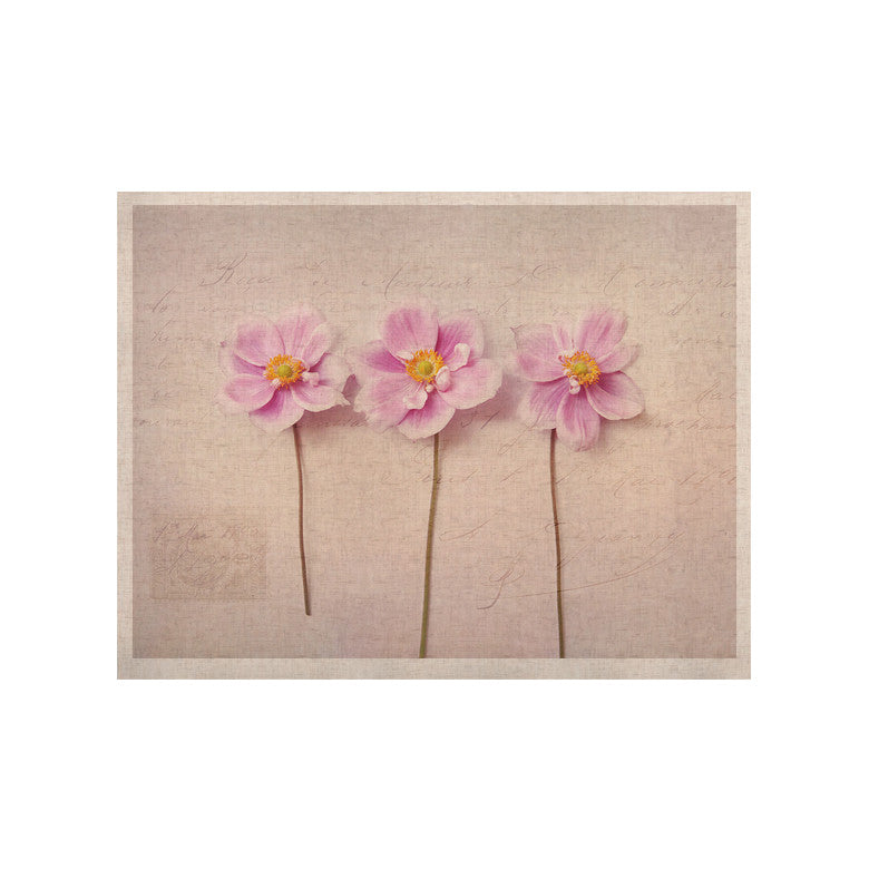 "Sylvia Cook ""Anemone Trio"" KESS Naturals Canvas (Frame not Included) - KESS InHouse  - 1"
